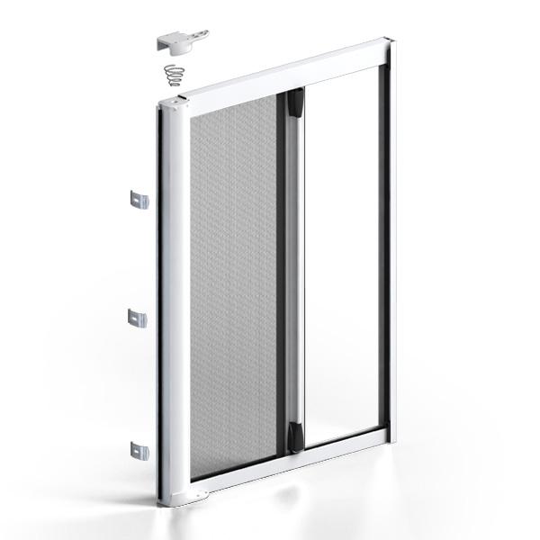 Zanzar sistem spa zanzariere klip 40 laterale - Zanzariere porta finestra prezzi ...
