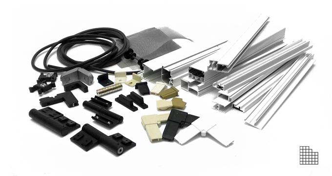 Components linea pannelli rigidi